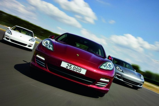 2010 Porsche Panamera 550x366 Complete List of Car Manufactures and Their Logos