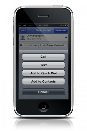 google voice iphone using voice for iphone voicemail realitypod 3466