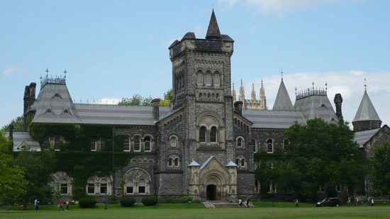 800px University College University of Toronto 550x309 Top 10 IT Universities in the World