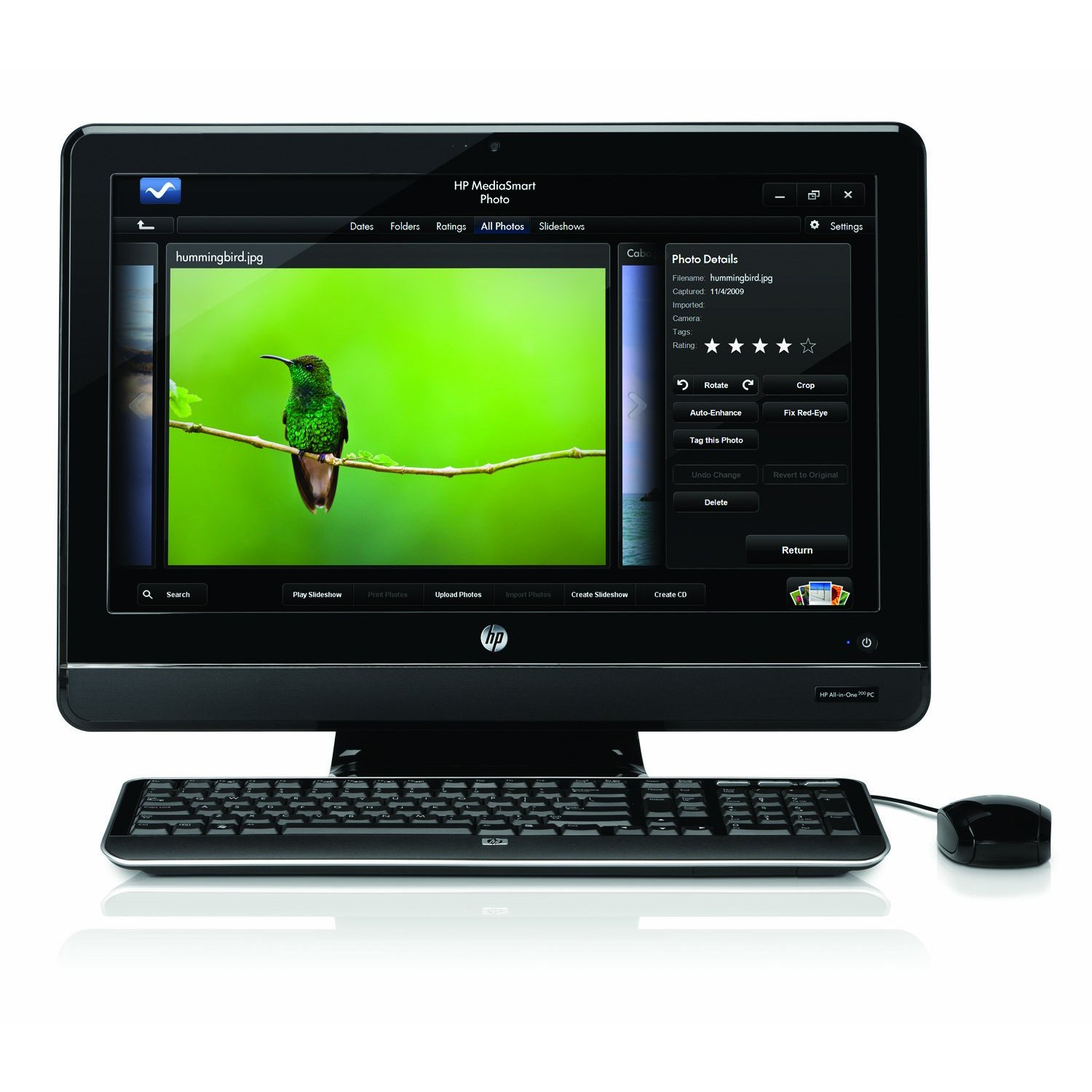 )Hp all-in-one 200-5020