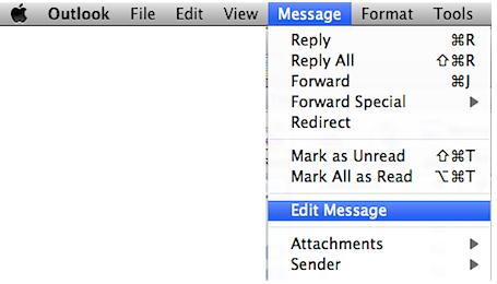 Outlook for Mac 2011 How to Change the Subject Line of Received Emails Outlook for Mac 2011: How to Change the Subject Line of Received Emails