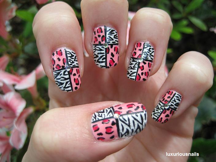 Top rated nail designs realitypod animal print nails art prinsesfo Images