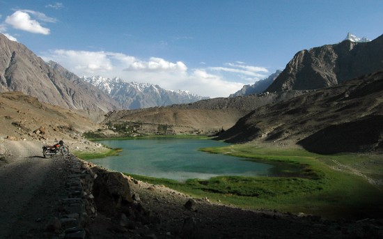 17 borith lake 550x343 Top 5 Beautiful Lakes in Pakistan