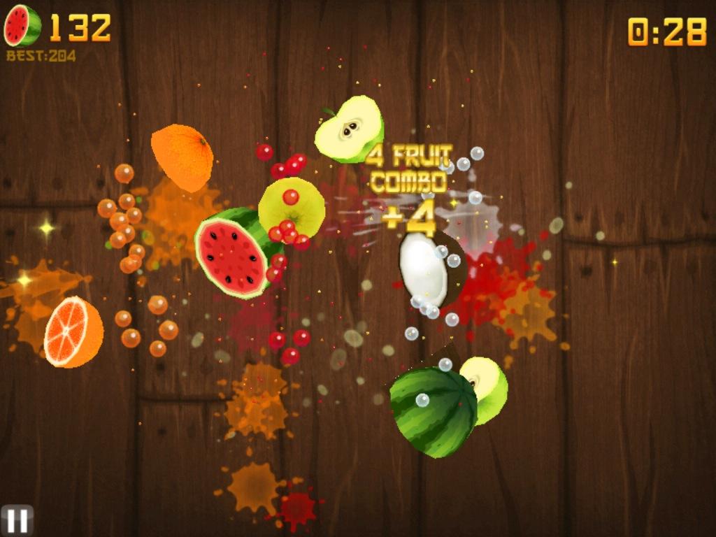 Fruit Ninja Для Ipad - фото 6