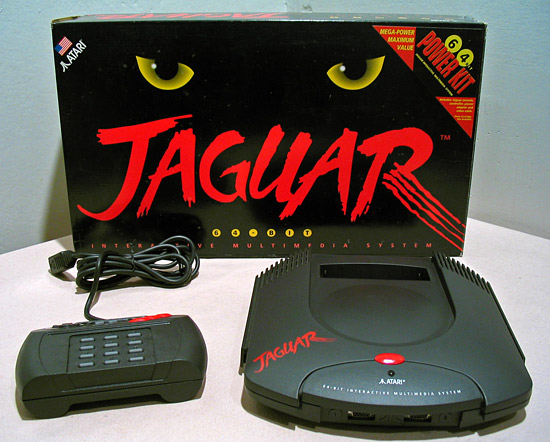 Atari jaguar Top 10 Gaming Console Failures