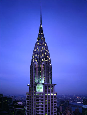 Chrysler Building1 The Top Ten Tallest Steel Structures