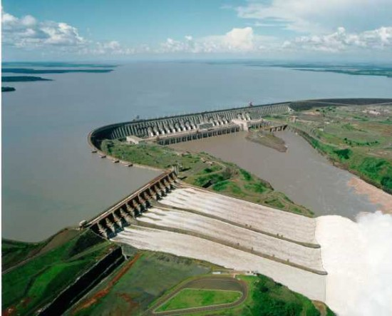 Itaipu Dam 550x443 Top Ten Most Expensive Constructions