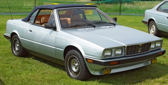 Maserati Biturbo mp101 pic 5993 550x280 Top Ten Worst Cars