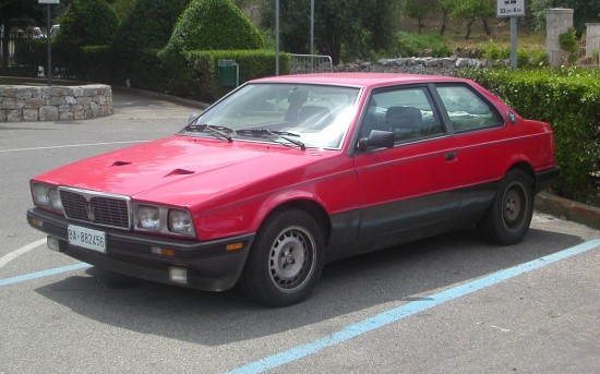 Maserati BiTurbo S 550x343 Top Ten Worst Cars