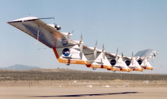 Nasa Helios Solarflugzeug 550x328 Top Ten NASA Failures