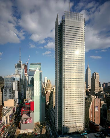 New York Times Tower 3 The Top Ten Tallest Steel Structures
