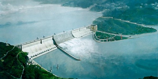 Three Gorges Dam1 550x277 Top Ten Most Expensive Constructions