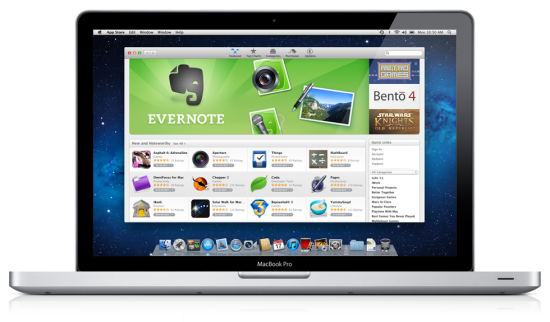 appstore 550x322 Mac OS X Lion Features