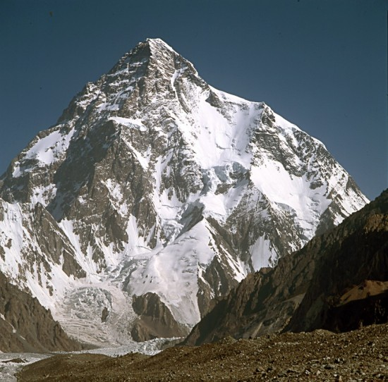 godwin 550x542 Top 5 Glaciers of Pakistan