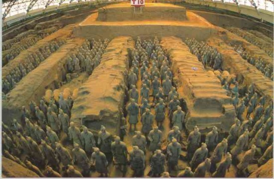 terracotta army 2.jpg for web LARGE 550x359 Top Ten Most Important Historical Finds
