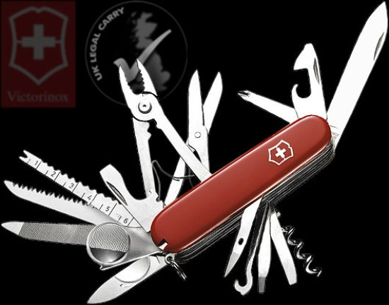 7 Victorinox 1679500 Swiss Army Knife Champ Top 10 Swiss Army Knives