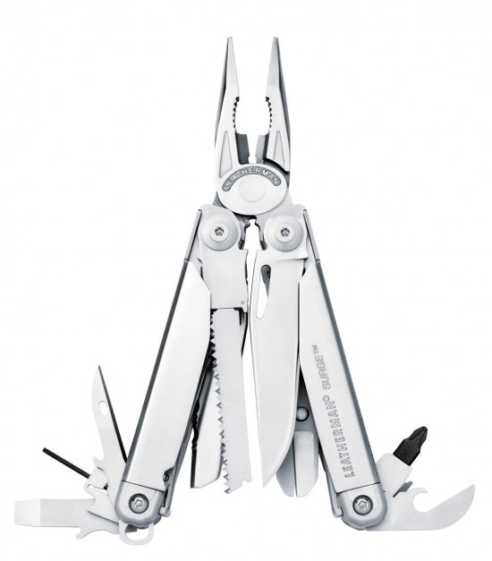 8 Leatherman Surge Multi tool Pliers 550x627 Top 10 Leatherman Multi tools