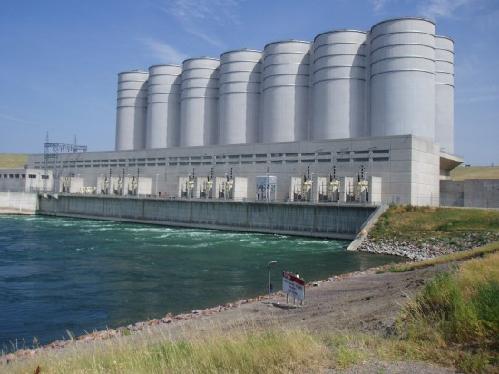 Oahe Dam 1 550x412 Top 10 Worlds Largest Dams