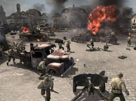 company of heroes 550x412 Top Ten Famous War Games