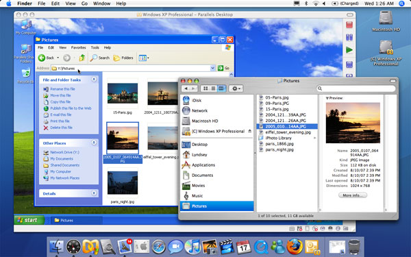 Usability of other OS with Mac