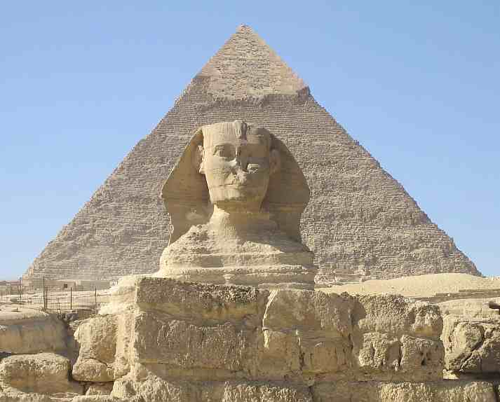 1. The Pyramids of Giza