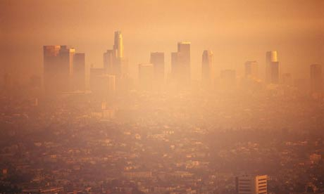 6. Smog over L.A USA Seven Shocking Wonders of the World