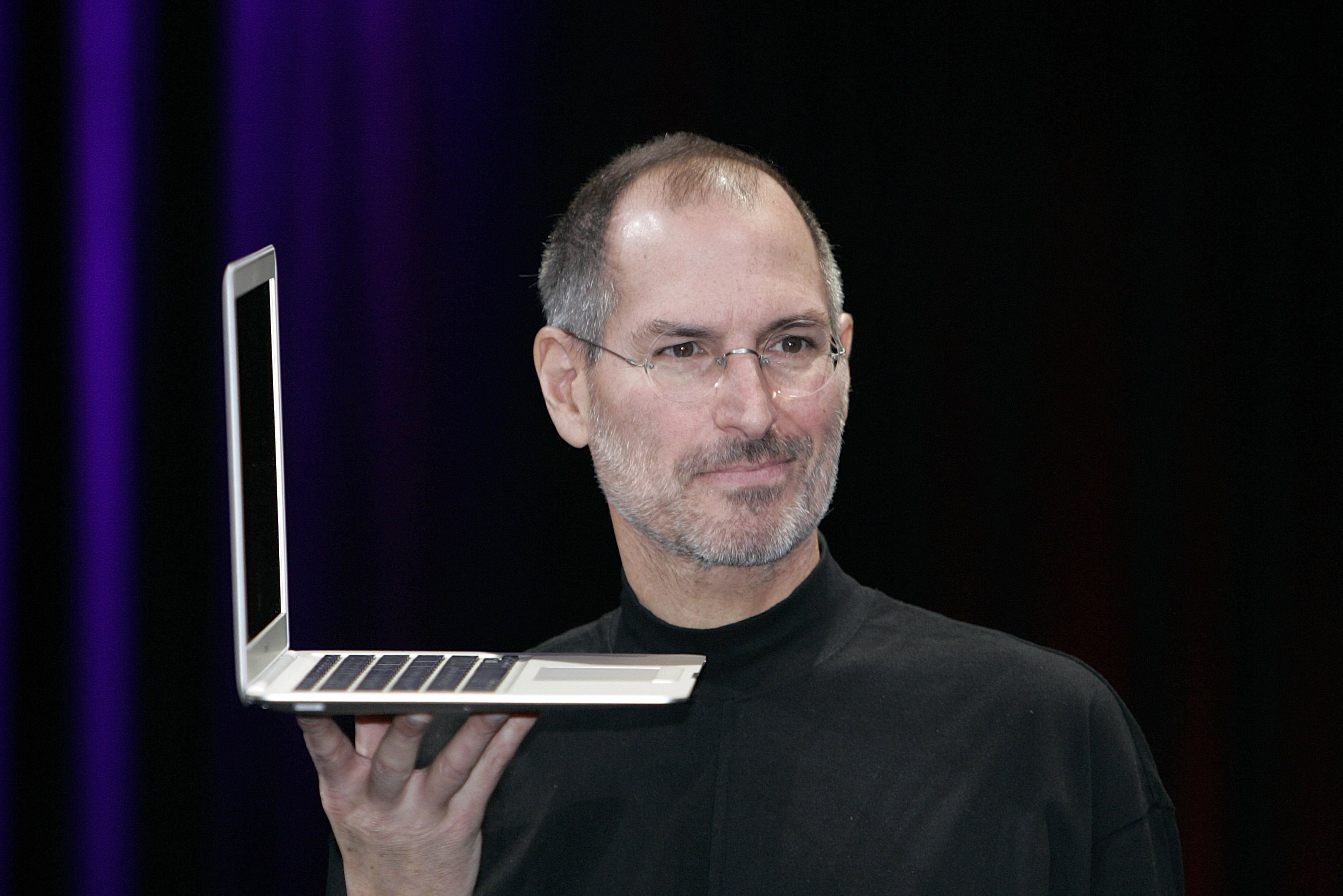 Steve Jobs Delivers Keynote Speech At Macworld Conference & Expo