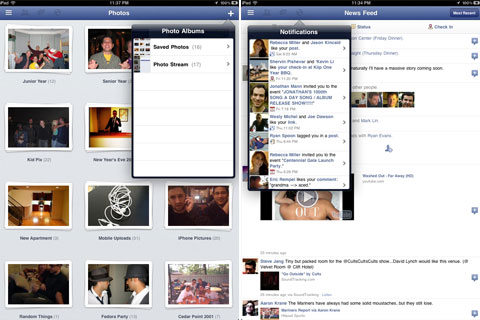 Facebook iPad App Surfaces in iPhone App, Blogger Says