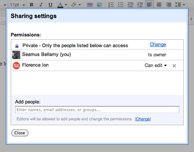 Create a Chat Room with Google Docs on cheap