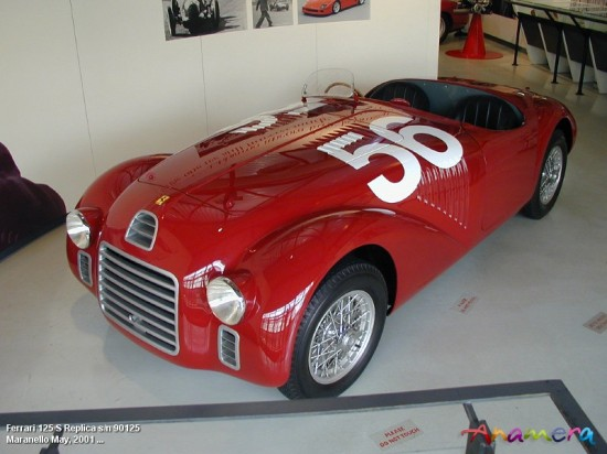 No. 2 Ferrari 125 550x412 Top 10 Models of Ferrari