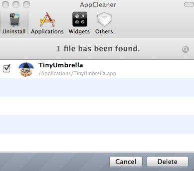 UnInstall Applications On Mac OS X Using AppCleaner How to remove Applications from Mac OS X with AppCleaner