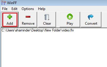 WinFF a media convertor for (almost) any format