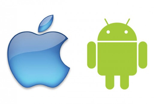 apple android 520x346 Apple And Android Capture 94% Global Tablet Shipments