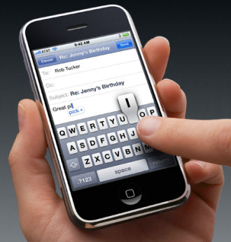 iPhone Can Now Tell What Other People Are Typing