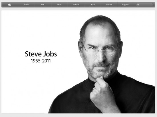 steve jobs 550x410 Steve Jobs, Apple Co Founder, Dies