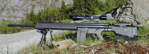 HK MSG90 Top 10 German Sniper Rifles