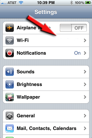 2 iphone wifi1 Wi Fi Connection Problems In iPhone