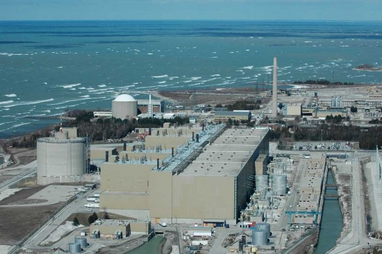Bruce Nuclear Power Plant 550x366 Top 10 Nuclear Power Plants