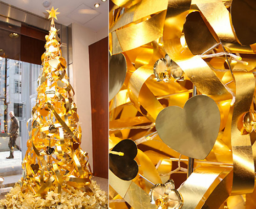 Gold Tree This Years Most Expensive Christmas Tree!