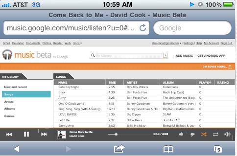 HOW TO Use Google Music Beta On iOS Devices Google launched Music Beta for Android and iOS devices