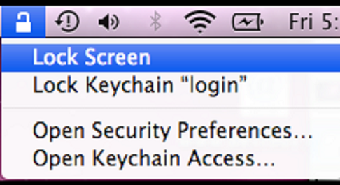 Lock2 Locking Mac Without Having To Wait For Screensaver Or Sleeping Mode