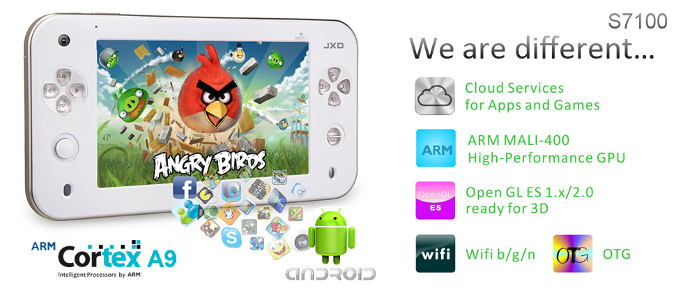 Android Gaming Tablet Heads Your Way