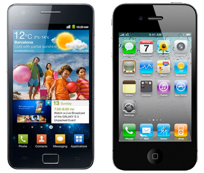 Samsung Galaxy SII iphone 4S iPhone 4S Tops Carrier Sales, Followed Closely By Galaxy SII