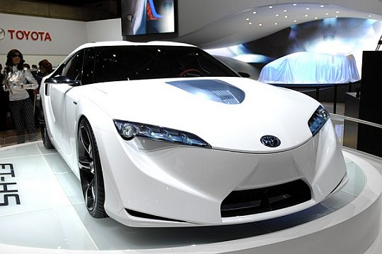 1 toyota hybrid concept car Existing Concept Cars!