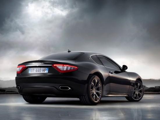 2008 maserati gran turismo s 2 550x412 Maserati Grand Turismo S Special Edition Black
