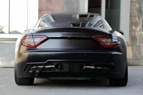 2011 Anderson Germany Maserati Gran Turismo S Superior Black Edition Rear 588x391 550x365 Maserati Grand Turismo S Special Edition Black