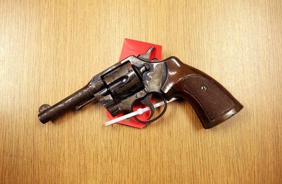 20110320 colt 38caliber revolver 53 550x360 Minneapolis Police Gun Vault Department