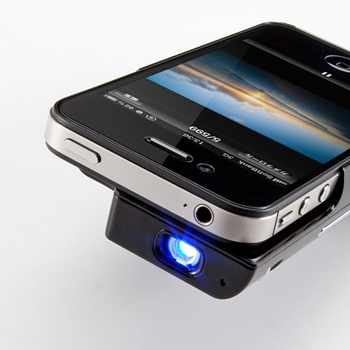mini projector for your iphone 4 4s