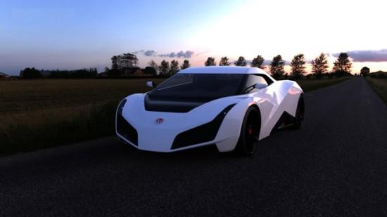 Honda RA X Concept Car 1 550x309 Existing Concept Cars!