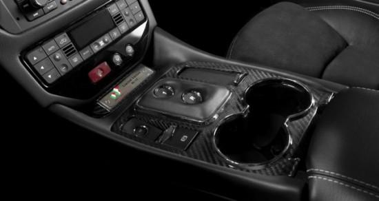 Maserati Gran Turismo Limited Edition inside 550x292 Maserati Grand Turismo S Special Edition Black